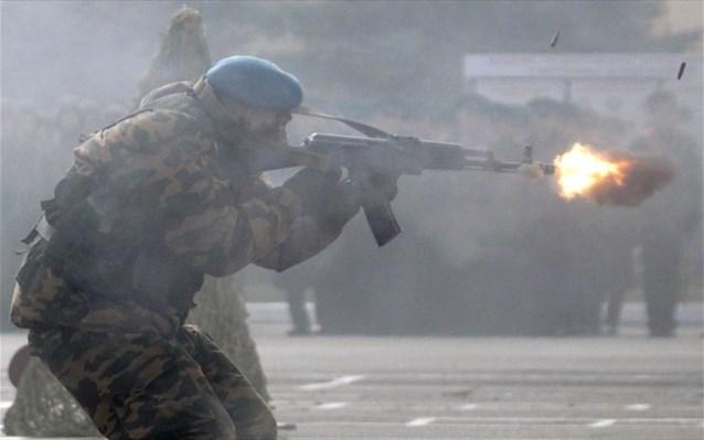 Κοινή άσκηση Σέρβων, Ρώσων και Λευκορώσων καταδρομέων