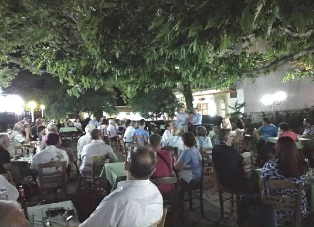 Μεγάλες  συγκεντρώσεις του Σάββα Αναστασιάδη σε Νέα Μάδυτο και Σταυρό