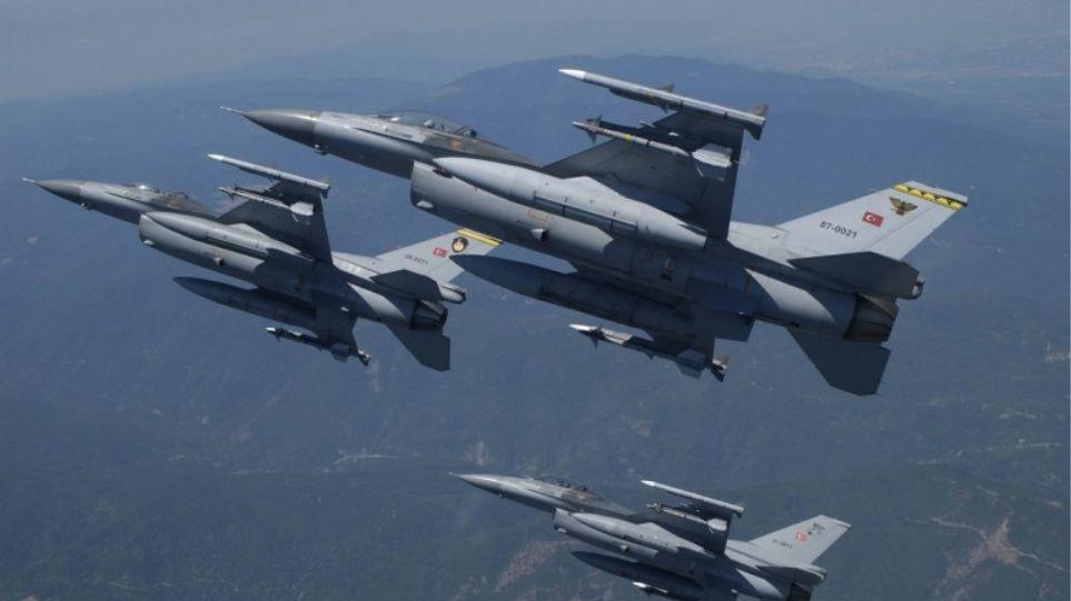 Πτήσεις τουρκικών αεροσκαφών πάνω από το Αγαθονήσι και το Φαρμακονήσι