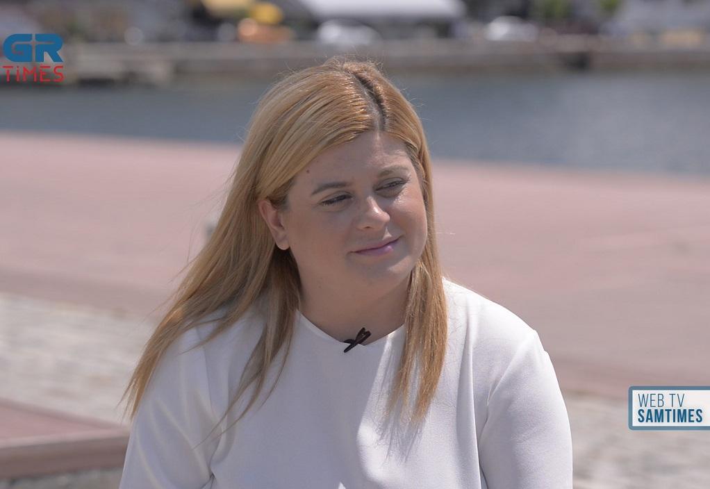 E.Χατζηγεωργίου στο GrTimes: Το επόμενό μου βήμα είναι να κάνω ένα παιδί (VIDEO)