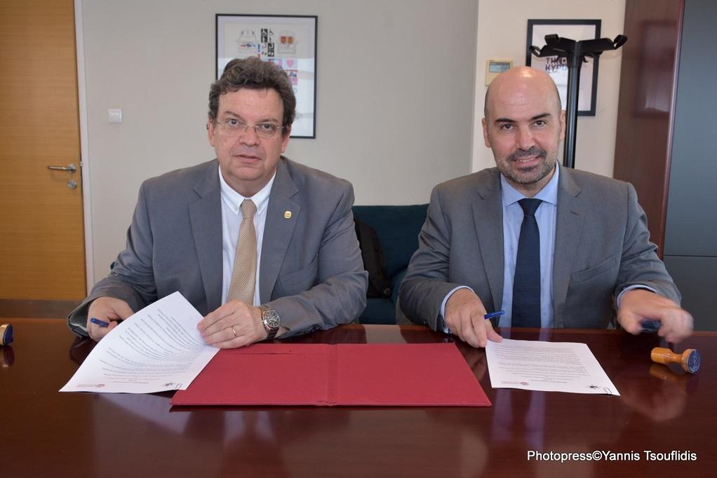 Σύμφωνο συνεργασίας μεταξύ ΑΠΘ και ΕΛΣΤΑΤ