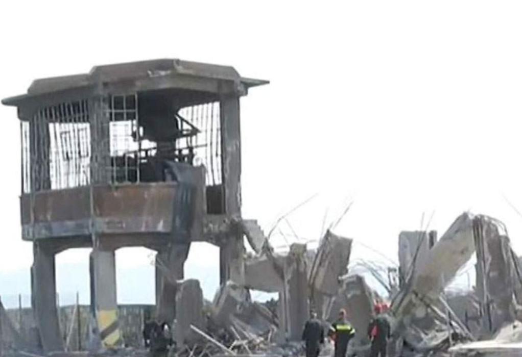 Κατέρρευσε από το σεισμό παλιός ταινιόδρομος στον ΟΛΠ