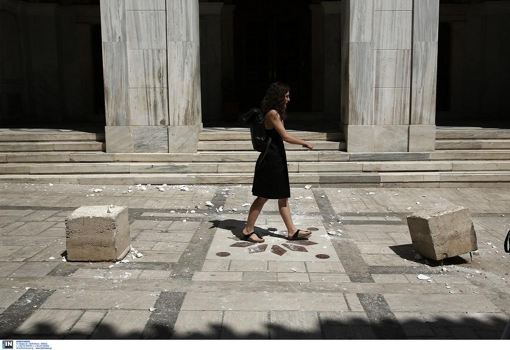 Συνεχίζονται οι έλεγχοι από το δήμο Αθηναίων για τυχόν ζημιές
