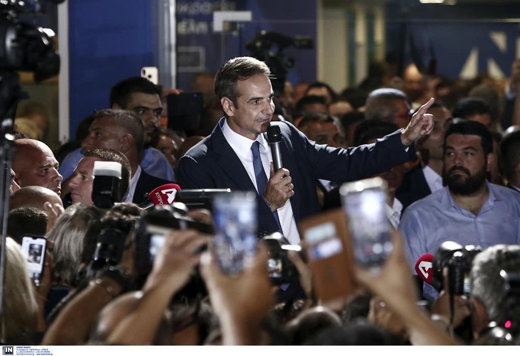 Μητσοτάκης- Ορκίζεται πρωθυπουργός και ανακοινώνει το υπουργικό του συμβούλιο