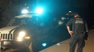 Πυροβολισμοί στη Νεοχωρούδα – Εμβόλισαν περιπολικό