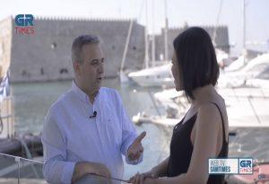 Ν. Σερμάκης στο GrTimes: Αυτό που κυλάει στα σπλάχνα της Κρήτης είναι ο πολιτισμός