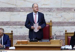 O Κωνσταντίνος Τασούλας πρόεδρος της Βουλής με ρεκόρ ψήφων