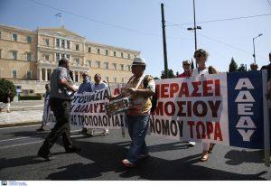 ΑΔΕΔΥ: Στάση εργασίας για τους 5.500 συμβασιούχους του ΟΑΕΔ