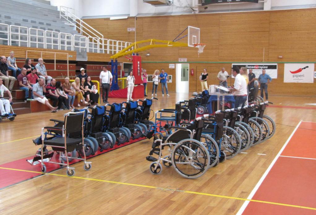 Δήμος Ευόσμου – Κορδελιού: Δωρεά αναπηρικών αμαξιδίων