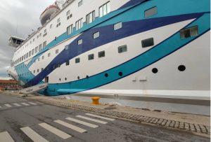 Ο ΟΤΘ υποδέχθηκε το κρουαζιερόπλοιο Crown Iris