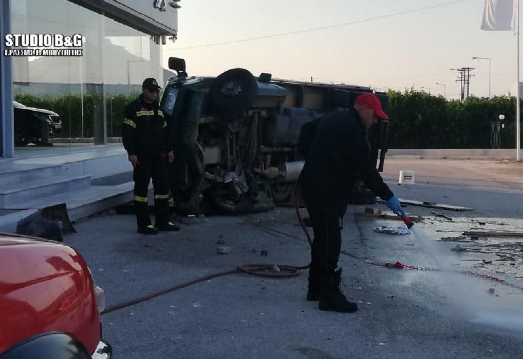 Τραγικό δυστύχημα στο Άργος – Εκσφενδονίστηκε από το φορτηγάκι και αυτό τον καταπλάκωσε