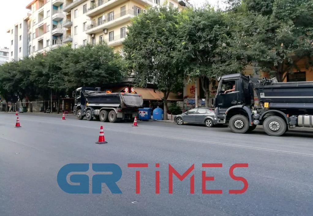 Θεσσαλονίκη: Έργα και κυκλοφοριακές ρυθμίσεις στην Εγνατία (video +φωτό)