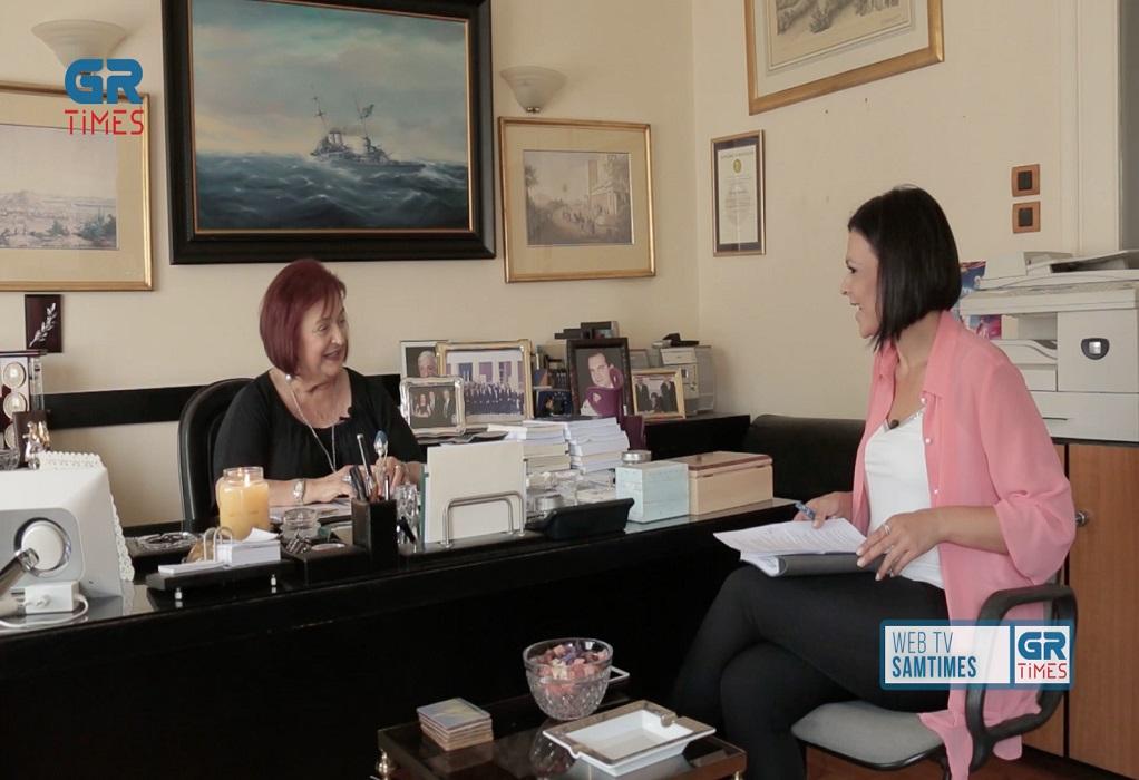 M. Γιαννάκου στο GrTimes: Ο Κ. Μητσοτάκης είναι ευφυής και θα είναι σκληρός ως Πρωθυπουργός (VIDEO)