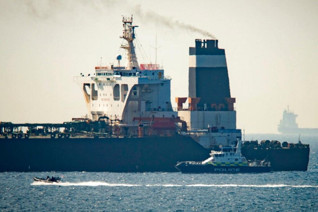 Γιβραλτάρ: Το ιρανικό δεξαμενόπλοιο «Grace 1» θα αφεθεί ελεύθερο