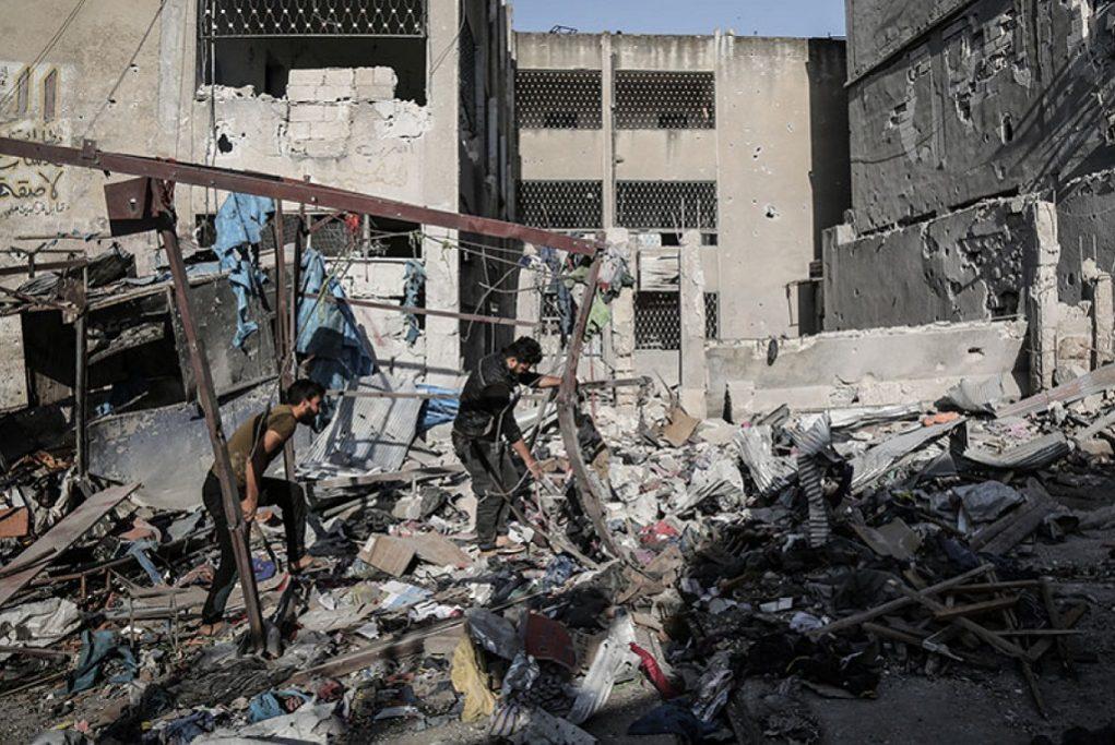 «Εντείνουν» τη συνεργασία τους στη συριακή επαρχία Ιντλίμπ, Πούτιν και Ερντογάν