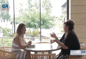 Λ. Μαντά: H βιβλιοπαραγωγή στην Ελλάδα είναι μία αρένα (VIDEO)