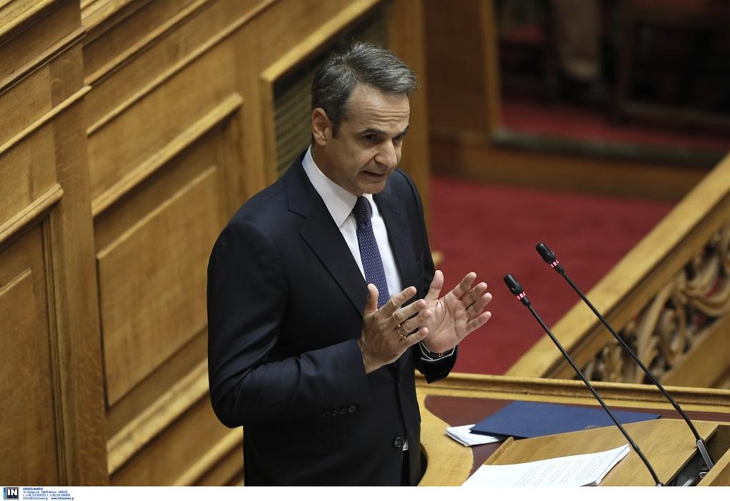 Βουλή: Ο Μητσοτάκης απαντάει σε Τσίπρα & Γεννηματά την Παρασκευή