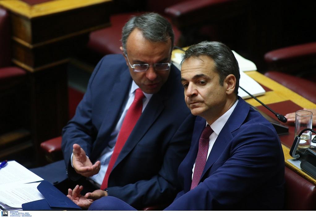 Για ούζο ο Μητσοτάκης μετά τη Βουλή (ΦΩΤΟ)