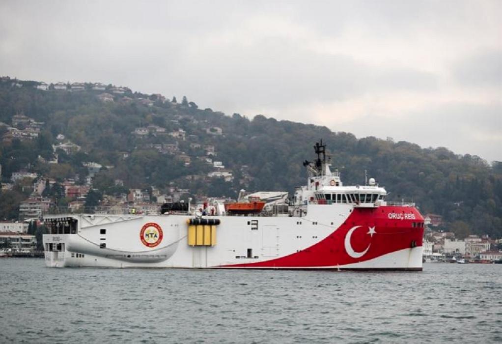 Τούρκος υπ. Ενέργειας: To Oruc Reis έφτασε στην περιοχή όπου θα κάνει τις έρευνες