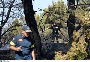 Υψηλός κίνδυνος πυρκαγιάς και σήμερα (Χάρτης)