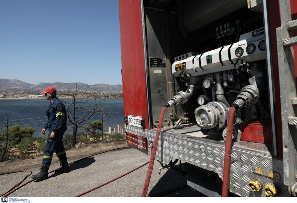 Πυρκαγιά και στο Μαρκόπουλο Αττικής – Σε εξέλιξη η φωτιά στα Μέγαρα