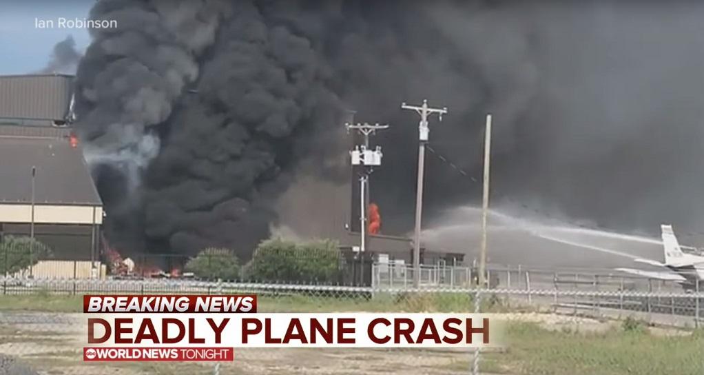 Συνετρίβη μικρό αεροσκάφος στο Τέξας – 10 επιβάτες νεκροί (VIDEO)
