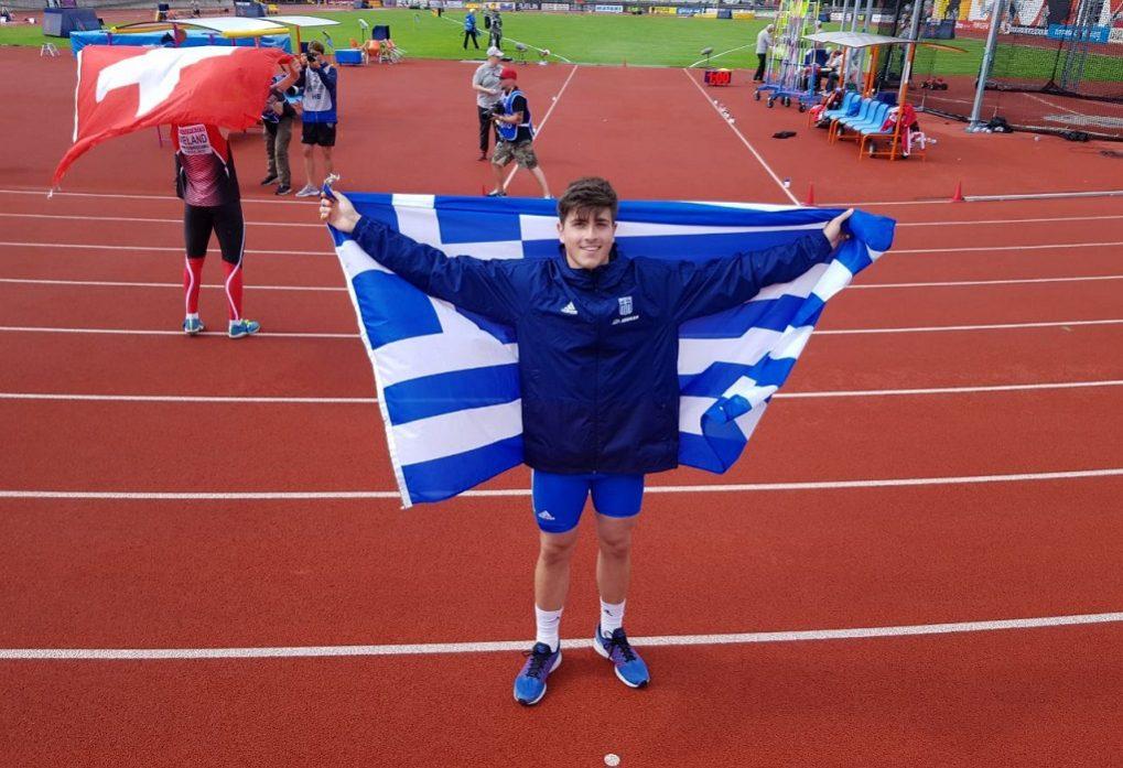 Τρίτο μετάλλιο η Ελλάδα στο Ευρωπαϊκό U20