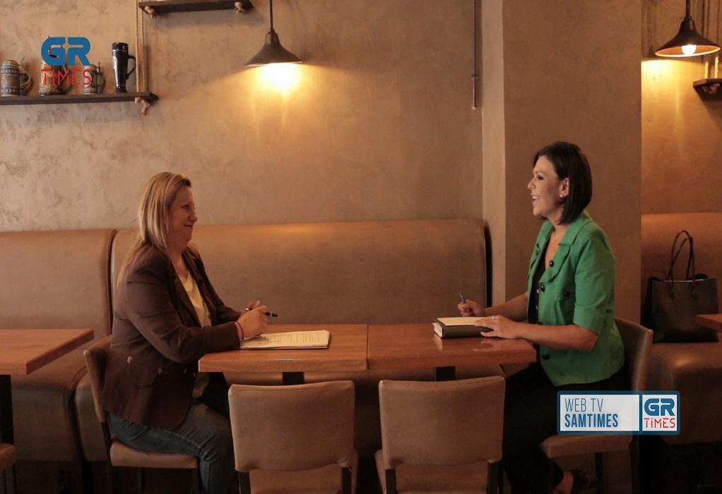 Α. Τζαμπαζλή στο GrTimes: Ο κόσμος ζητάει ανάπτυξη και δουλειές (VIDEO)