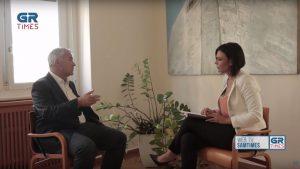 Μ. Βορίδης στο Grtimes: Τέρμα τα άβατα, τέρμα η ανοχή στην εγκληματικότητα (vid)