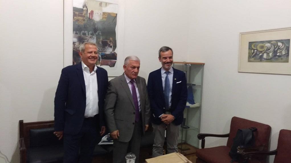 Επιστρέφει στη Χαλκιδική ο Θεοδωρικάκος μετά τις συναντήσεις στο ΥΜΑΘ