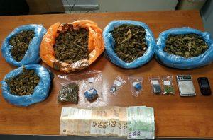 Συλλήψεις για ναρκωτικά σε Έβρο και Καβάλα