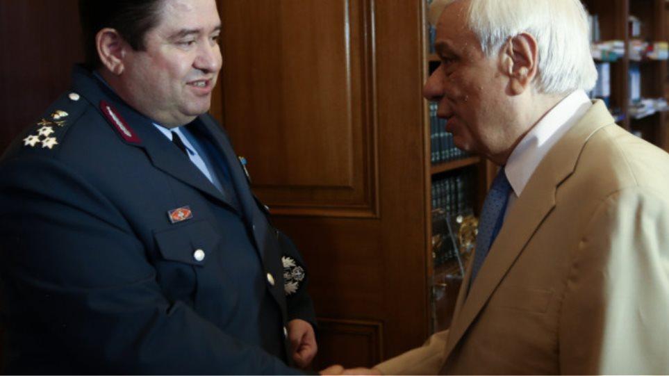 Παυλόπουλος στον αρχηγό της ΕΛ.ΑΣ.: «Το ζητούμενο είναι η ασφάλεια στην Αθήνα»