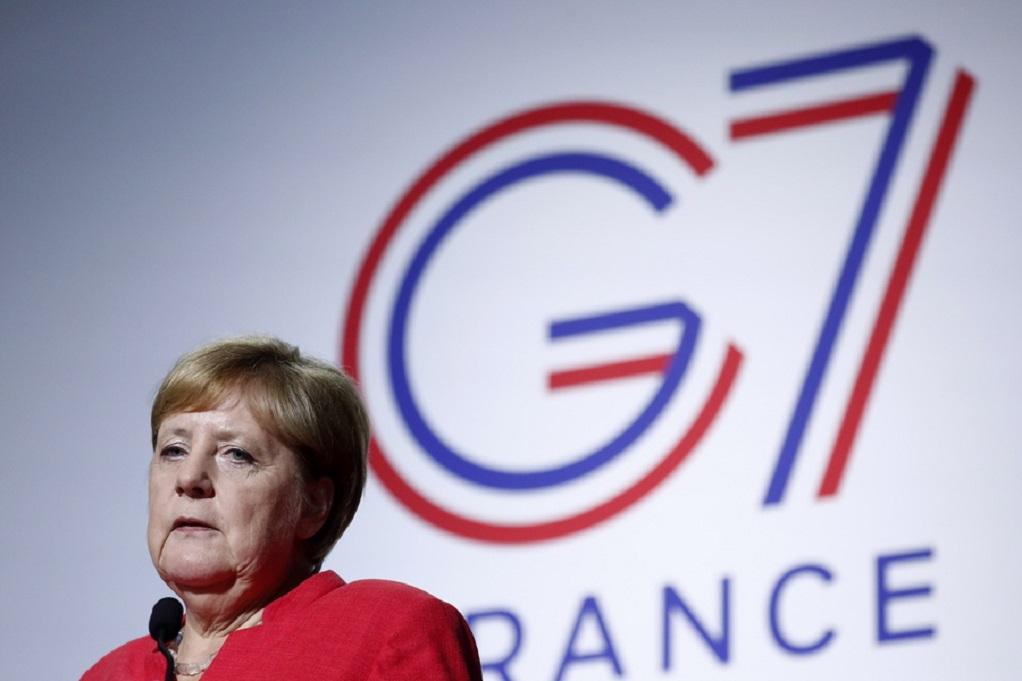 G7-Μέρκελ: Να αξιοποιηθεί κάθε ευκαιρία για τη μείωση εντάσεων σε σχέση με το Ιράν