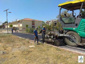 Μεταμορφώνονται οι γειτονιές του Δ. Θερμαϊκού-Σε εξέλιξη 4 έργα ασφαλτόστρωσης (ΦΩΤΟ)