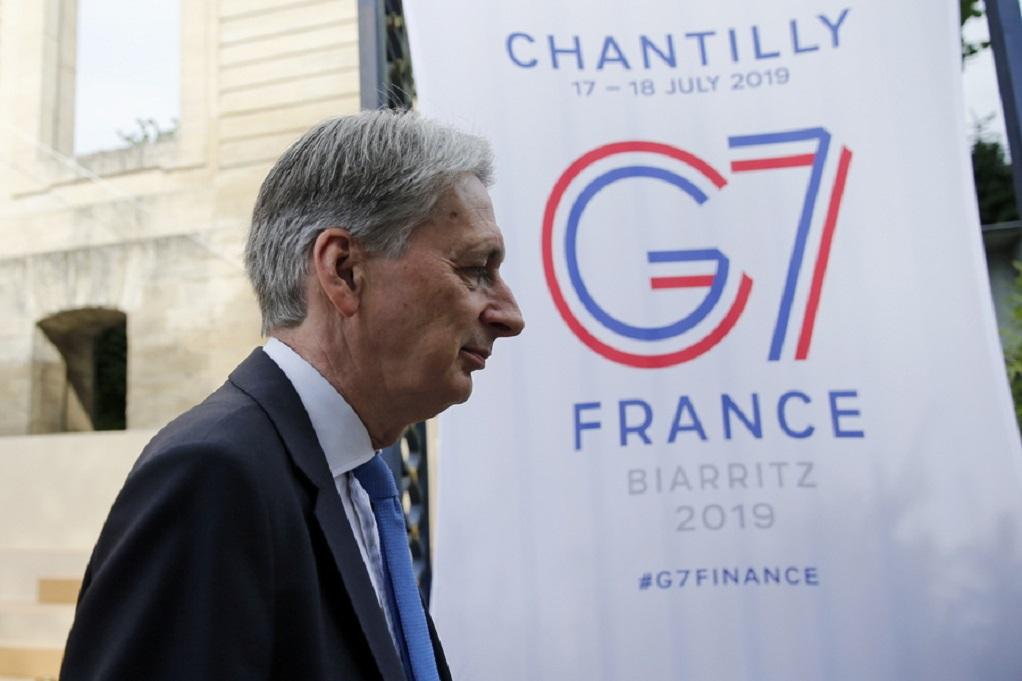 G7-Γεύμα εργασίας για Τραμπ και Μακρόν