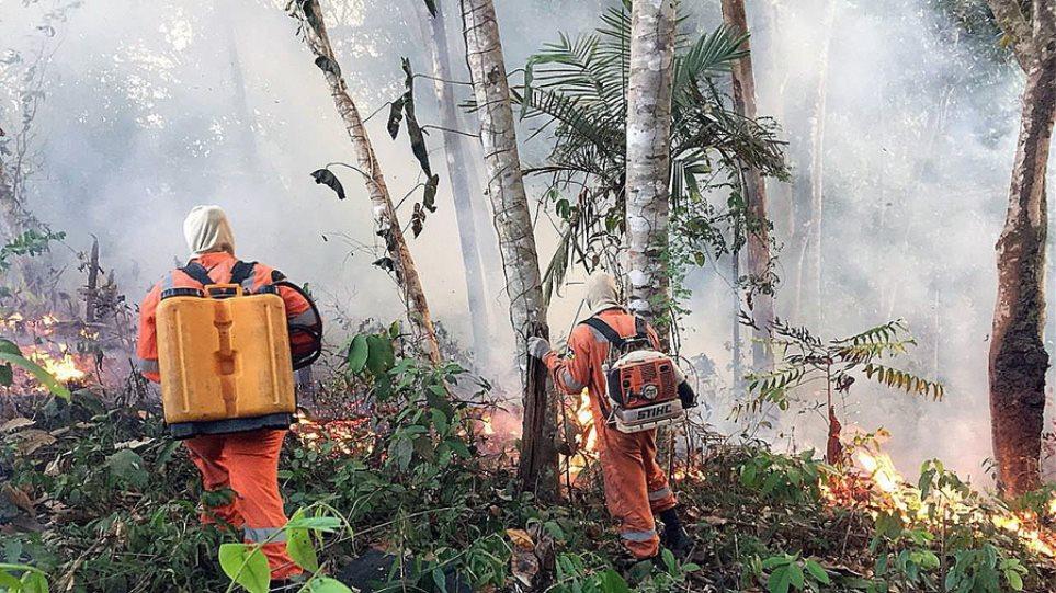 Πυρκαγιές στον Αμαζόνιο- Ο Μπολσονάρου σκέφτεται να στείλει τον στρατό