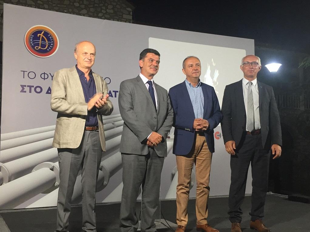 Τις εργασίες εγκατάστασης φυσικού αερίου στα Γρεβενά εγκαινίασε ο Θ. Καράογλου (ΦΩΤΟ)