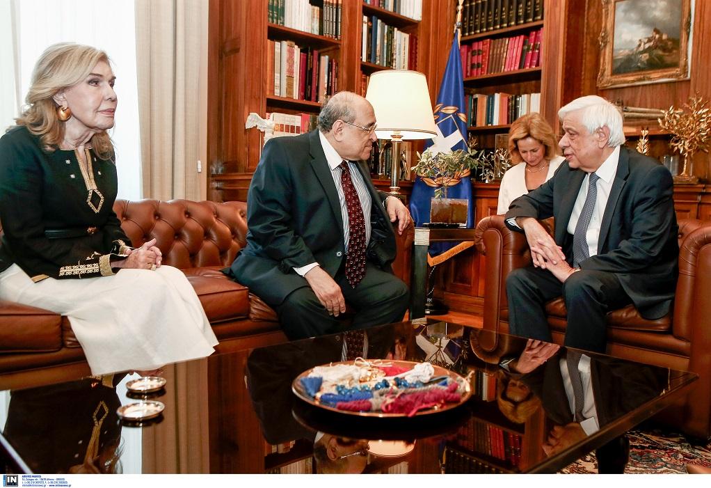 Παυλόπουλος: «Η Νέα βιβλιοθήκη της Αλεξάνδρειας θα συμβάλλει στην πορεία του παγκόσμιου πολιτισμού»