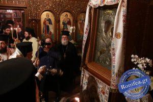 Πλήθος πιστών στη Ν. Μηχανιώνα για τον εορτασμό της Παναγίας Φανερωμένης (ΦΩΤΟ)