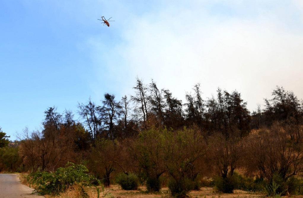 Φωτιά στα Καλάβρυτα – Σε απόγνωση οι κάτοικοι, ζητούν βοήθεια και από εναέρια μέσα