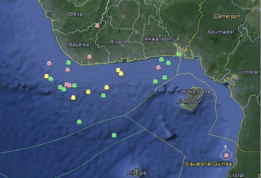 Απαγωγές και πειρατεία στον Κόλπο της Γουινέας