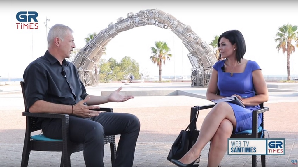 Γ. Μώραλης στο GrTimes: Ο Ολυμπιακός είναι η ζωντανή ιστορία του Πειραιά (VIDEO)