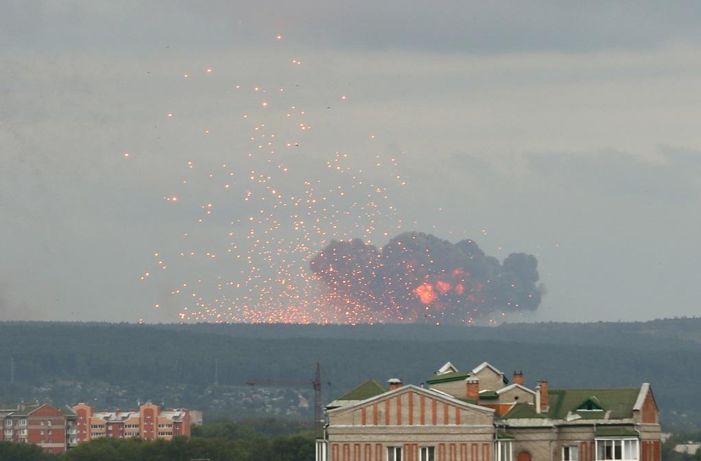 Ρωσία: Εντοπίστηκαν ραδιενεργά ισότοπα μετά το ατύχημα σε στρατιωτική βάση