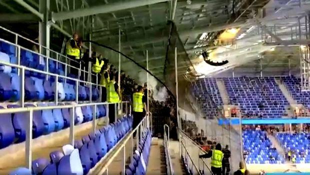 Ένταση με οπαδούς του Δικεφάλου και δακρυγόνα στην Μπρατισλάβα (VIDEO)