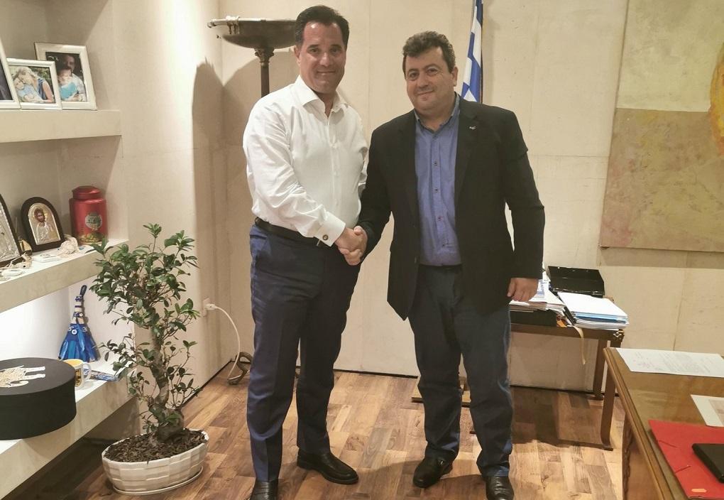 Γεωργιάδης: Ομάδα εργασίας για την αξιοποίηση του ΕΣΠΑ από τη Σαμοθράκη