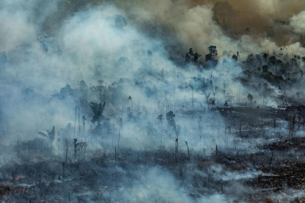 Αμαζονία: Εκατοντάδες νέες φωτιές
