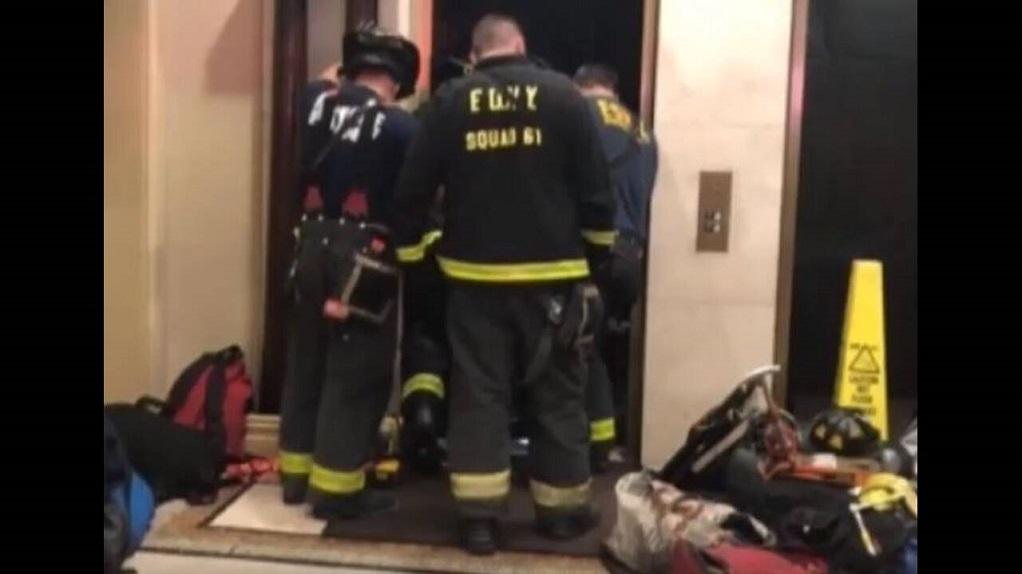 Φρικτός θάνατος -Aσανσέρ συνέθλιψε 30χρονο (VIDEO)