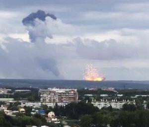 Έκρηξη σε αποθήκες πυρομαχικών στην Σιβηρία – Εκκενώθηκαν χωριά σε ακτίνα 20 χιλιομέτρων