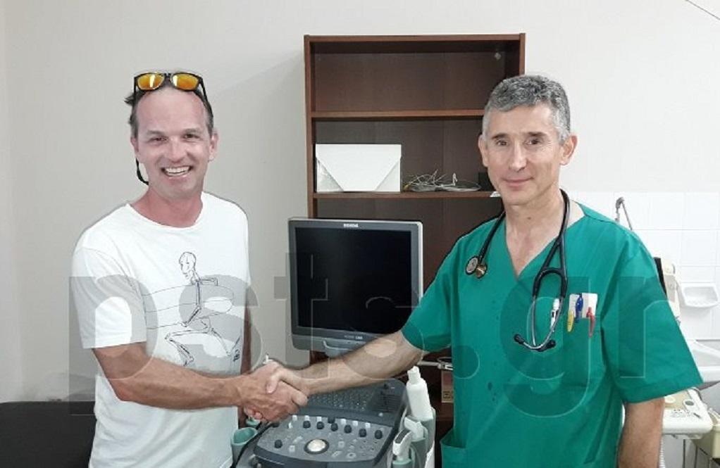 Αυστριακός γιατρός έκανε διακοπές στην Πάρο και δώρισε υπερηχογράφο στο Κέντρο Υγείας!