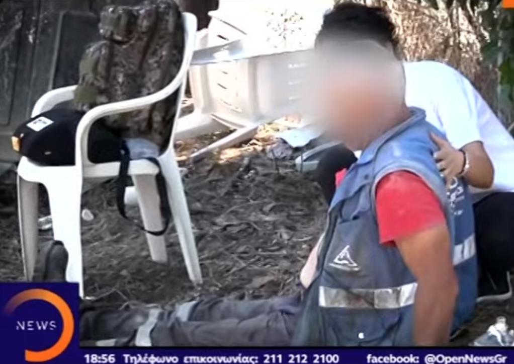 Υπάλληλος του Δήμου Βόλβης έπαθε έμφραγμα την ώρα του ρεπορτάζ (VIDEO)